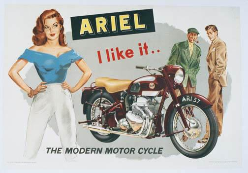Ariel the Modern Motorcycle